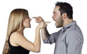 पति का पत्नी के साथ झगड़ा